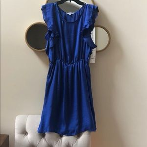 NWT- NY Collection Blue Dress